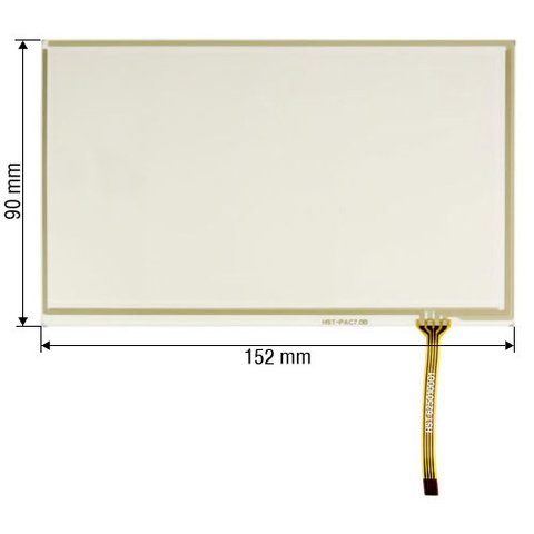 "6.5"" Flexible Touch Screen Panel"