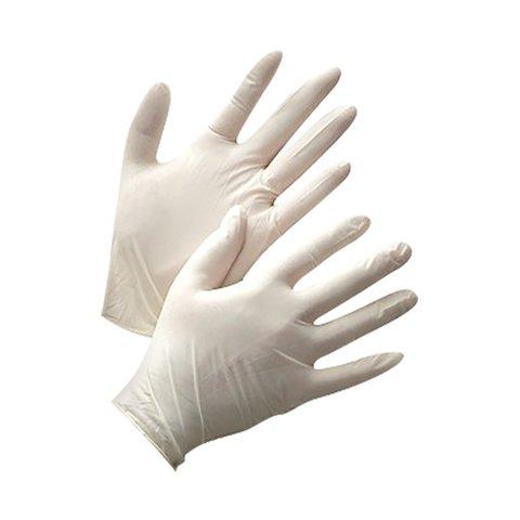 Latex Gloves size L, 100pcs pack