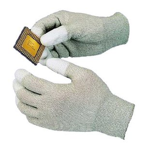 Goot WG-3L Антистатические перчатки с полеуретановыми пальцами (70х225мм)