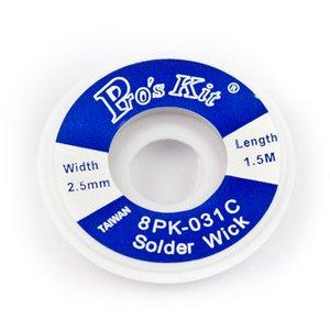 Оплетка для выпайки Pro'sKit 8PK-031C