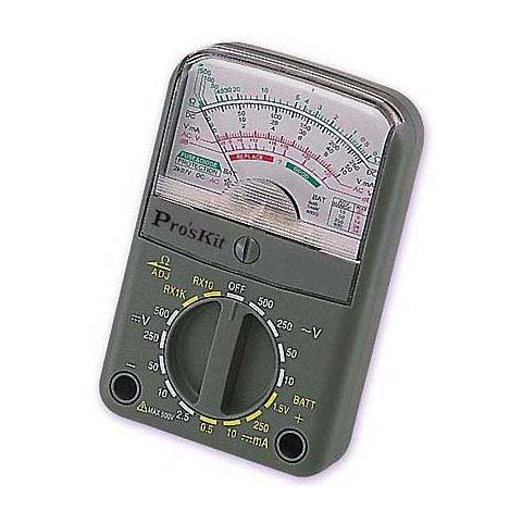 Компактний аналоговий мультиметр Pro'sKit 3PK 168N