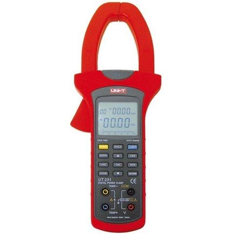 Цифрові струмовимірювальні кліщі UNI T UTM 1231 UT231