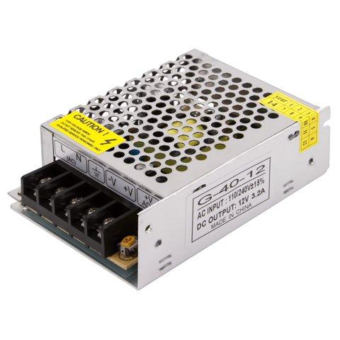 Блок живлення для світлодіодних стрічок 12 В, 3,2 А 40 Вт , 110 220 В