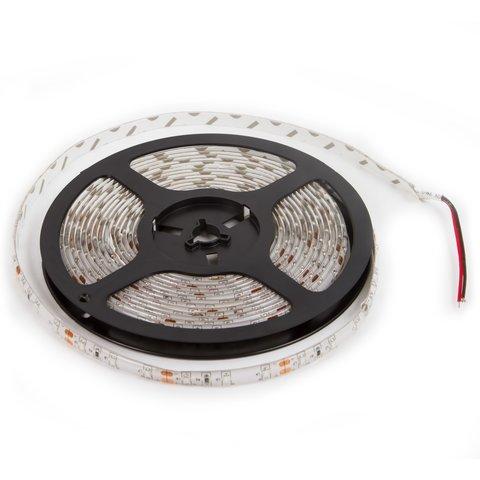 Світлодіодна стрічка, IP65, RGB, SMD 3528, без управління, 60 д м, 1 м, жовта