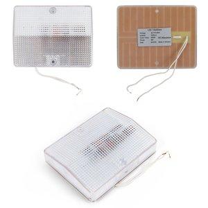 LED-світильник, 8 Вт, 220 В, 1000 лм, WW (природний білий), прямокутний