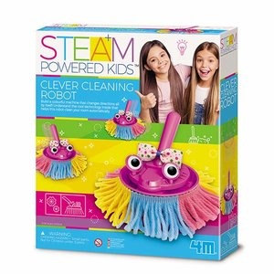 STEAM-набір 4M Розумний робот-прибиральник 00-04908