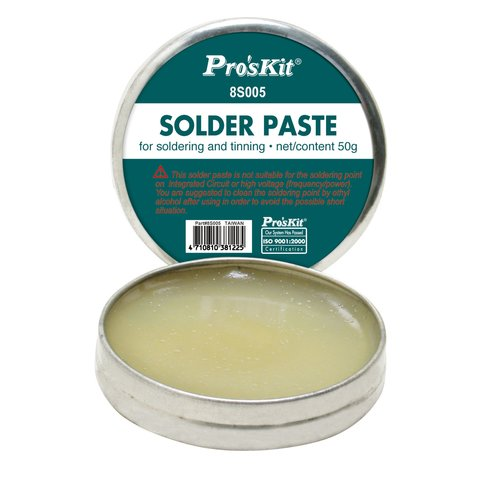 Pasta para soldadura Pro'sKit 8S005 50 g